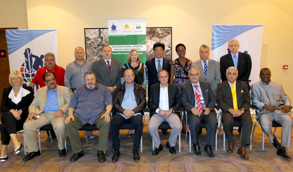 La Baku a avut loc reuniunea anuala oficiala a Comitetului Executiv al AIPS