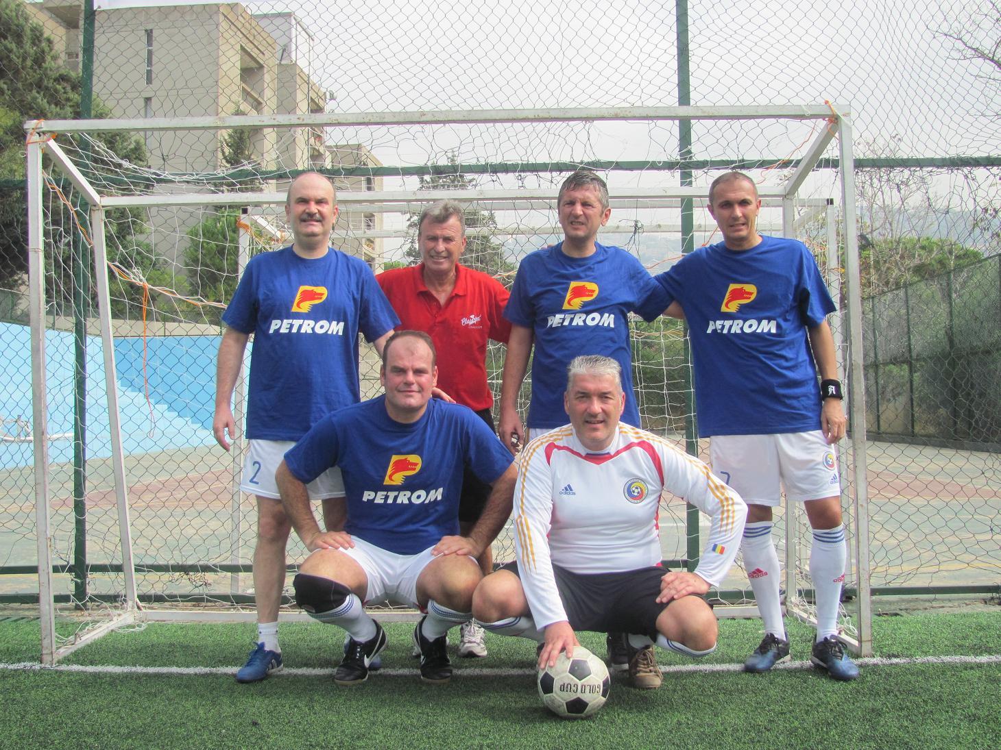 Naţionala de fotbal a României și-a apărat cu succes titlul olimpic