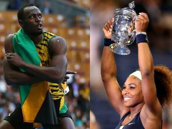 Usain Bolt şi Serena Williams, laureaţiii AIPS pe 2013