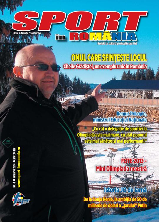 """A apărut numărul 4 al revistei """"Sport în România"""""""