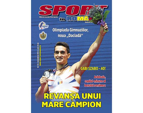 """A apărut numărul 26 al revistei """"Sport în România"""""""