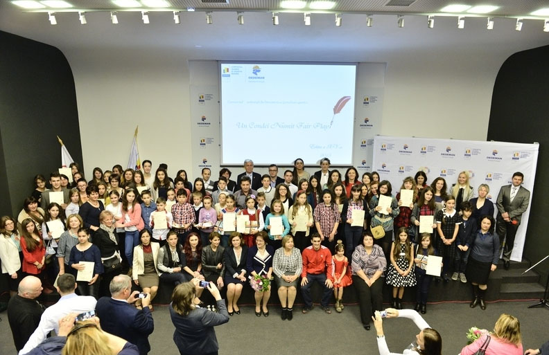 Micii scriitori sportivi au fost premiati la Casa Olimpica