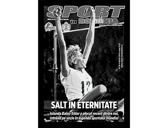 A apărut nr. 30 al revistei Sport în România