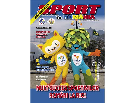 A apărut nr. 34 al revistei Sport în România
