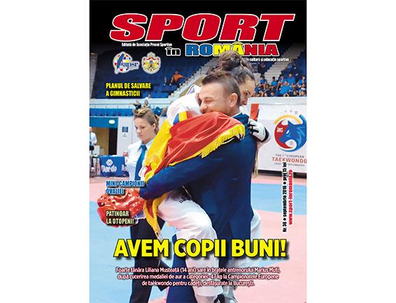 A apărut nr. 36 al revistei Sport în România