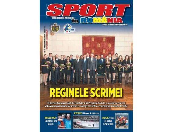 A apărut nr. 39 al revistei Sport în România