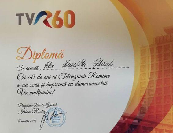 Președintele APS, onorat de TVR