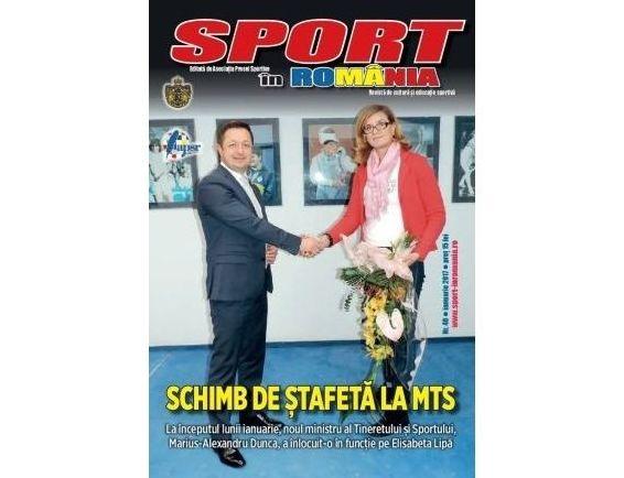 A apărut nr. 40 al revistei Sport în România