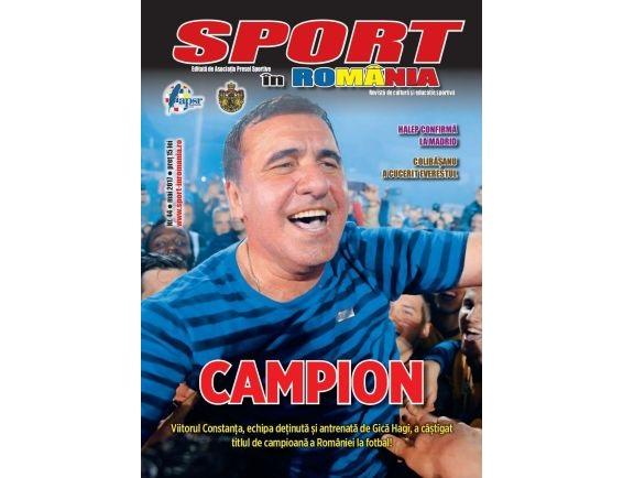 A apărut nr. 44 al revistei Sport în România