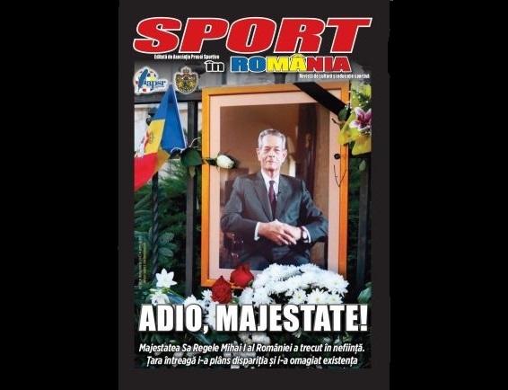A apărut nr. 51 al revistei Sport în România