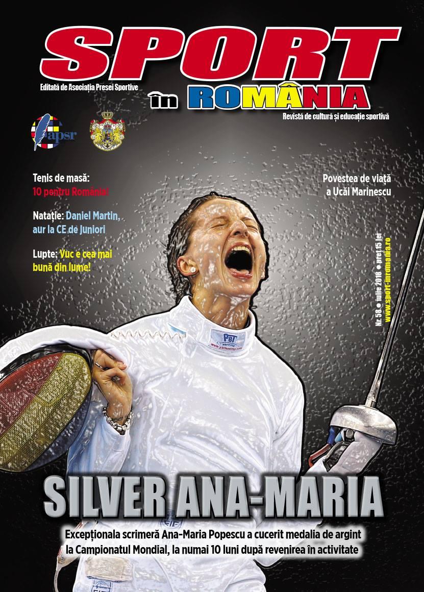 """A apărut numărul 58 al revistei """"Sport în România"""""""