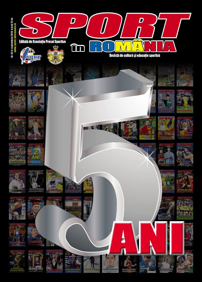 Revista Sport în România, la ceas aniversar! Am împlinit 5 ani!