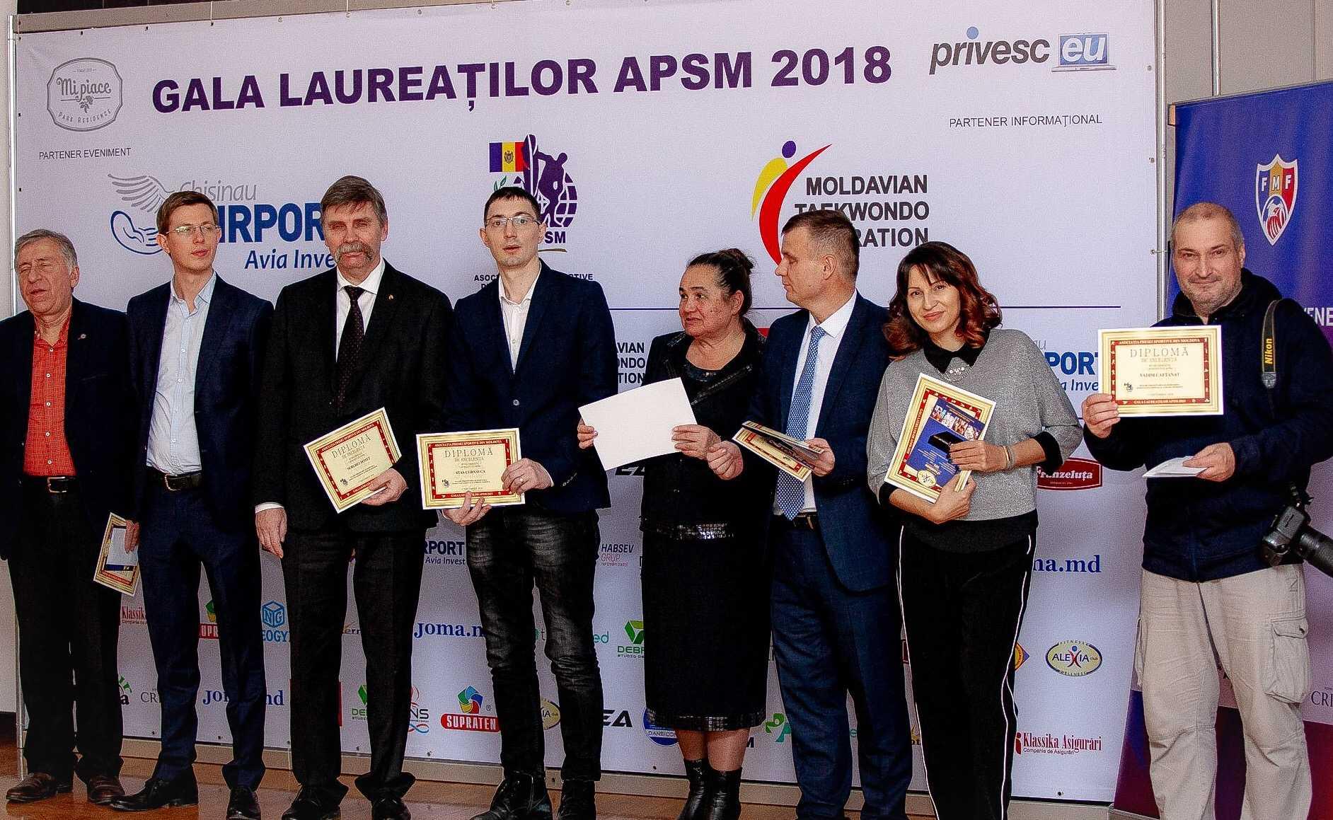 Sărbătoare în prezența AIPS: A 25-a aniversare a Asociației Presei Sportive din Republica Moldova