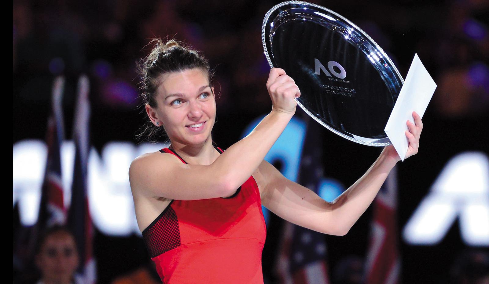Simona Halep – locul 3 în ancheta Asociației Internaționale a Presei Sportive
