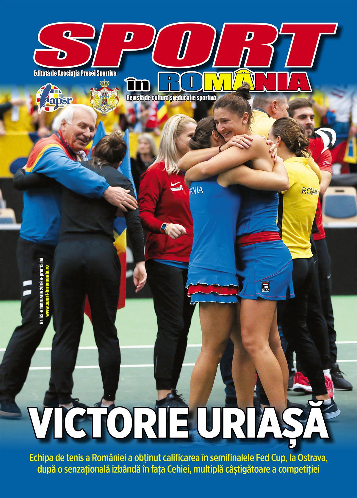 """A apărut nr. 65 al revistei """"Sport în România"""""""