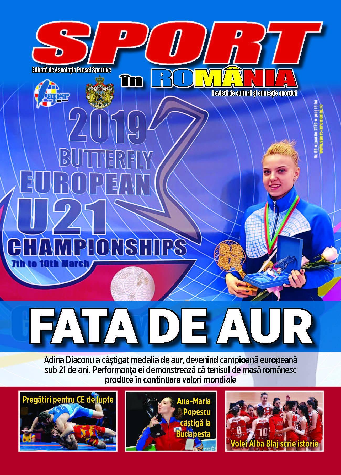 A apărut nr. 66 al revistei Sport în România