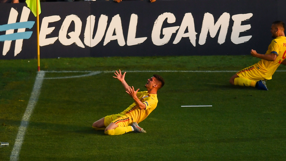 Evoluția de senzație a tricolorilor la EURO U21, prezentată pe site-ul AIPS, în programul Young Reporters