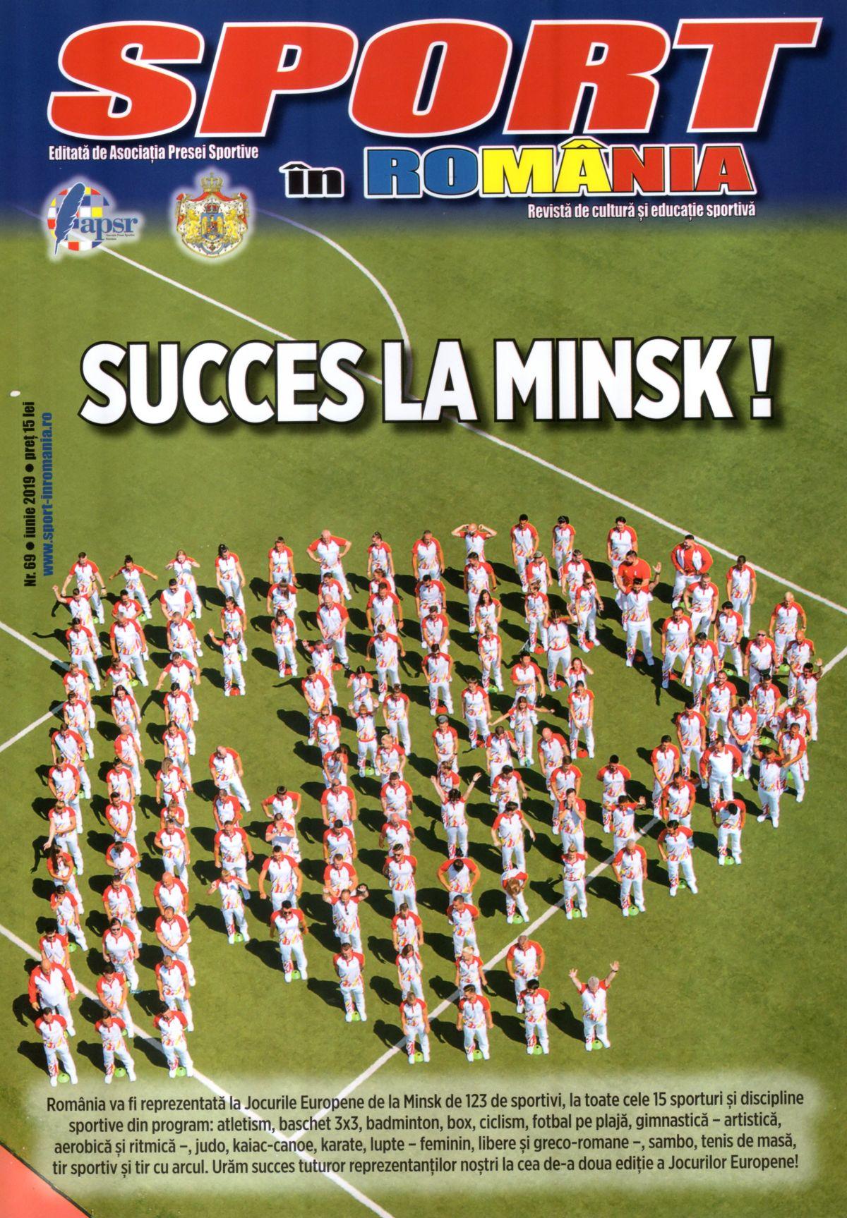 A apărut nr. 69 al revistei Sport în România