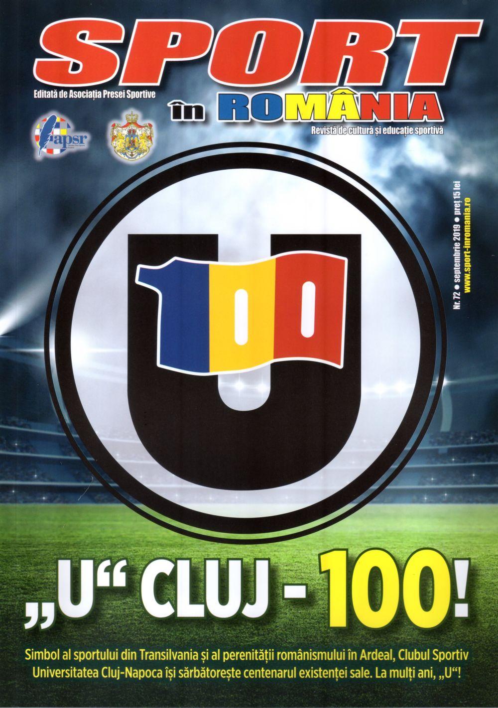 A apărut nr. 72 al revistei Sport în România
