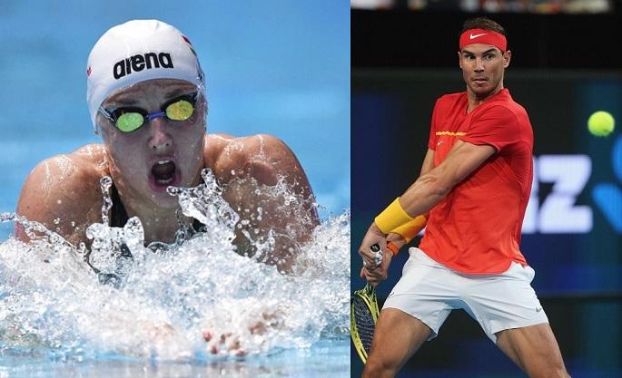 Hosszu și Nadal, desemnați sportivii europeni ai anului 2019