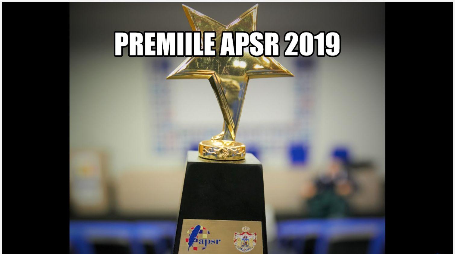 Asociația Presei Sportive din România decernează PREMIILE GAZETĂRIEI SPORTIVE pentru anul 2019