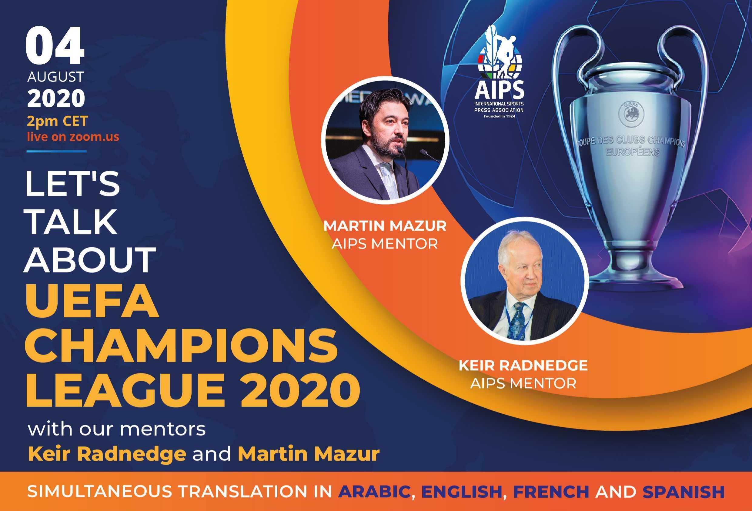 Seminar AIPS pe tema reluării Ligii Campionilor