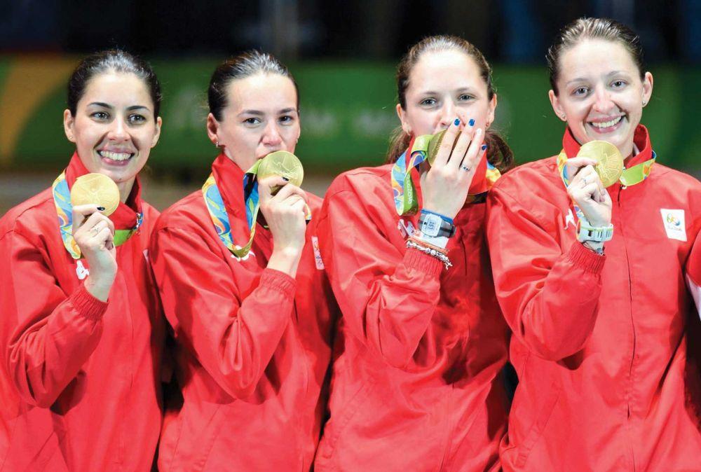 Viața după aurul olimpic