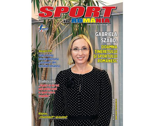 """A apărut numărul 6 al revistei """"Sport în România"""""""