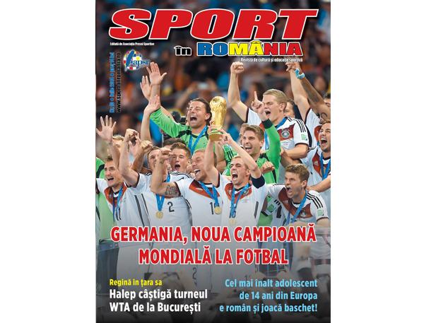 """A apărut numărul 10 al revistei """"Sport în România"""""""