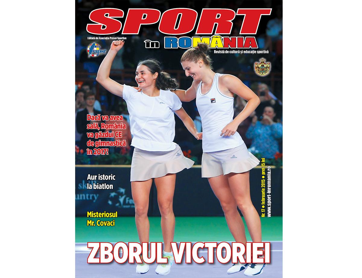 """A apărut numărul 17 al revistei """"Sport în România"""""""