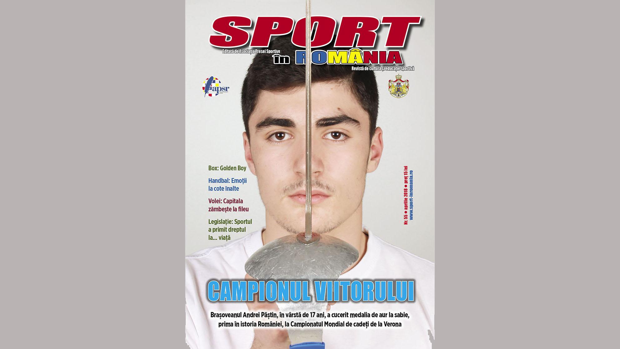 A apărut nr. 55 al revistei Sport în România