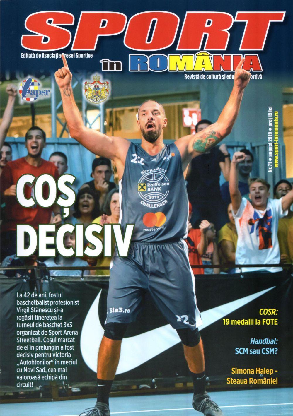 A apărut nr. 71 al revistei Sport în România