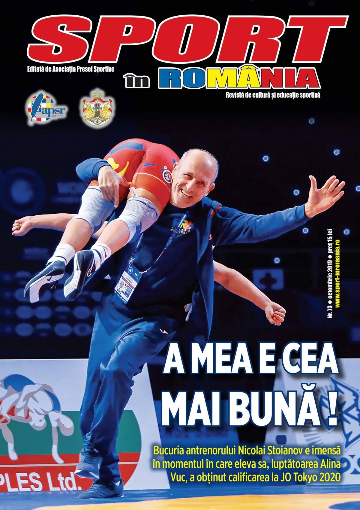 A apărut nr. 73 al revistei Sport în România