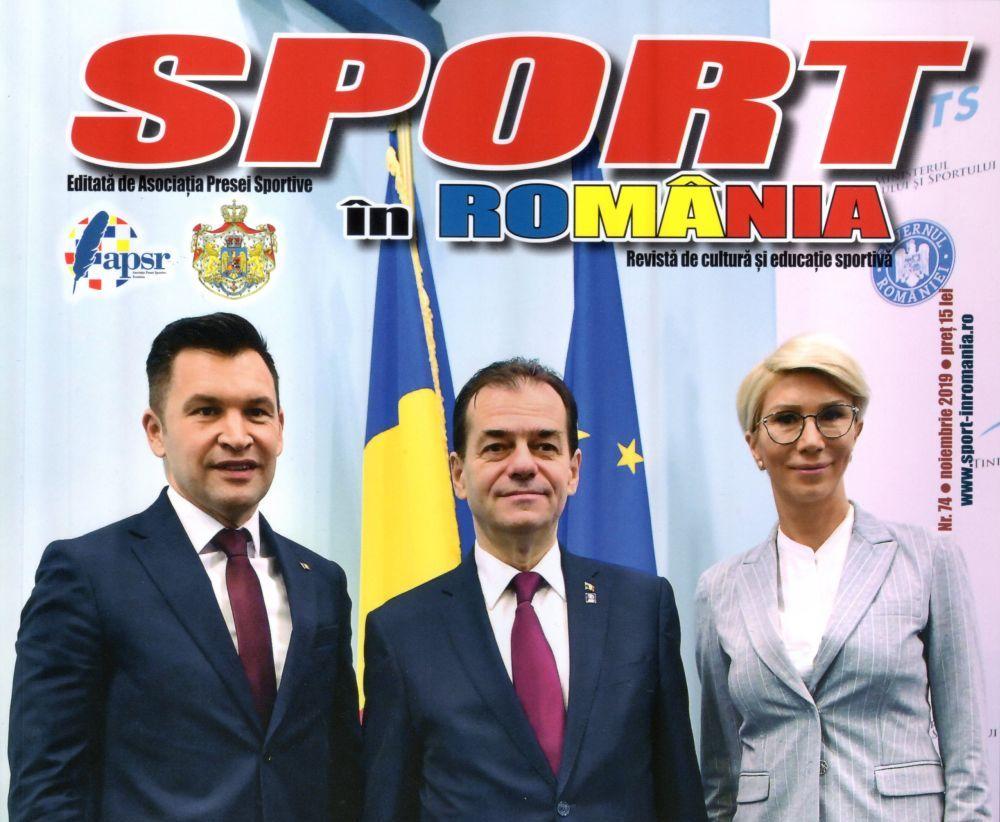A apărut nr. 74 al revistei Sport în România