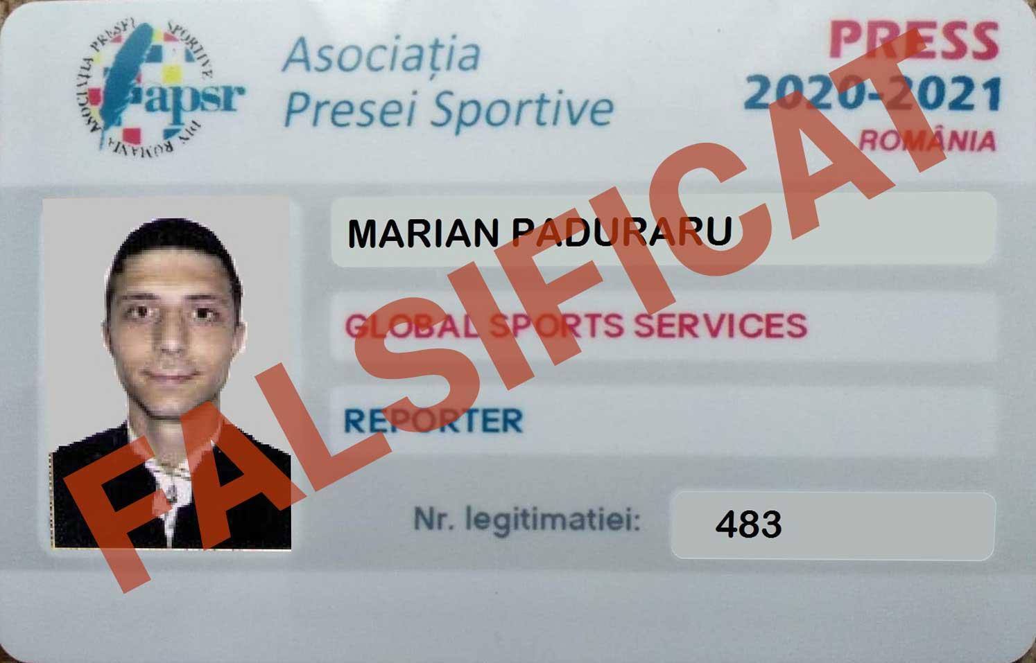 Ziarist exclus din APSR