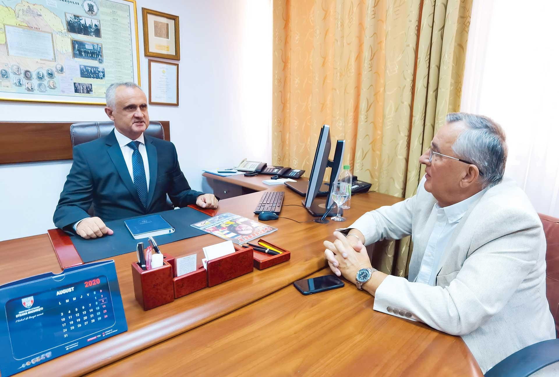 Interviu cu col. dr. Mădălin Sorin Hîncu – Președinte CSA Steaua
