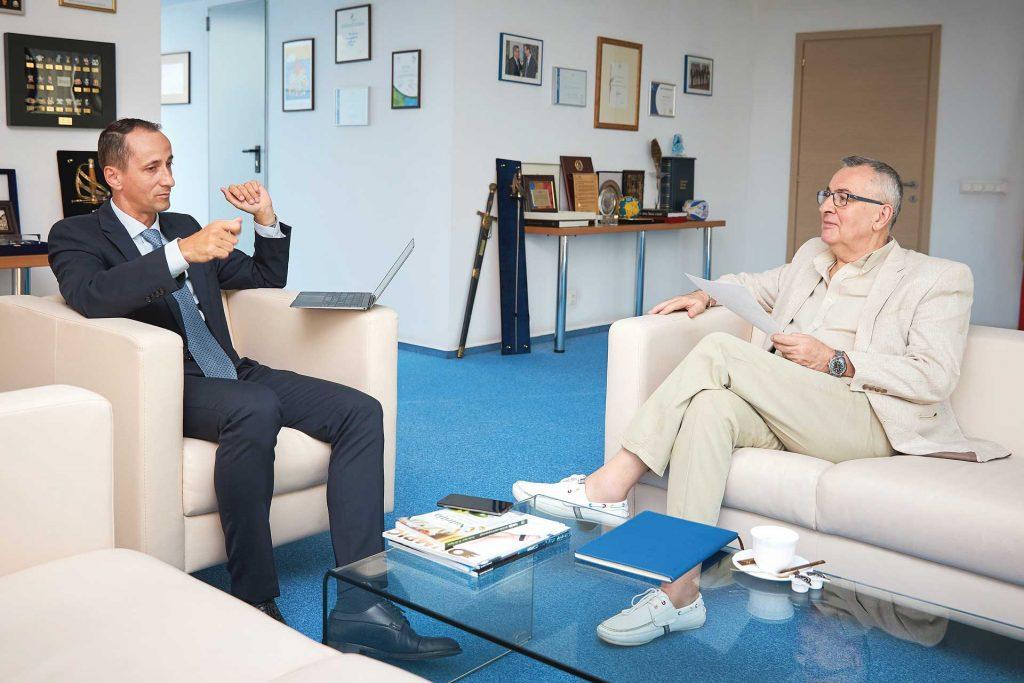 Interviu cu dl. Mihai Covaliu, președintele Comitetului Olimpic și Sportiv Român
