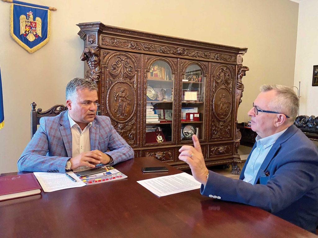 Interviu cu dl. Adrian-Ioan Veștea – președintele Consiliului Județean Brașov