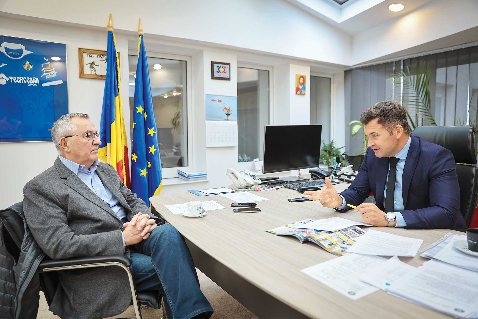 Interviu cu Ionuț-Marian Stroe, ministrul Tineretului și Sportului