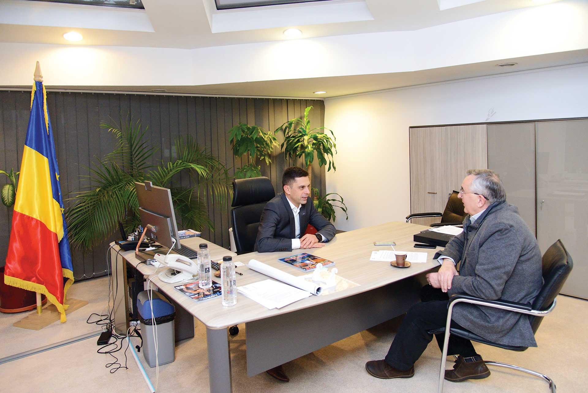 Interviu cu dl. Carol-Eduard Novak, ministrul Tineretului și Sportului